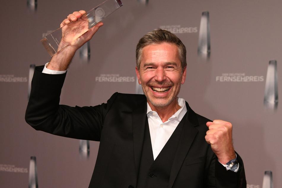 """2019 bekommt Steffens den Deutschen Fernsehpreis in der Kategorie """"bester Doku-Mehrteiler""""."""