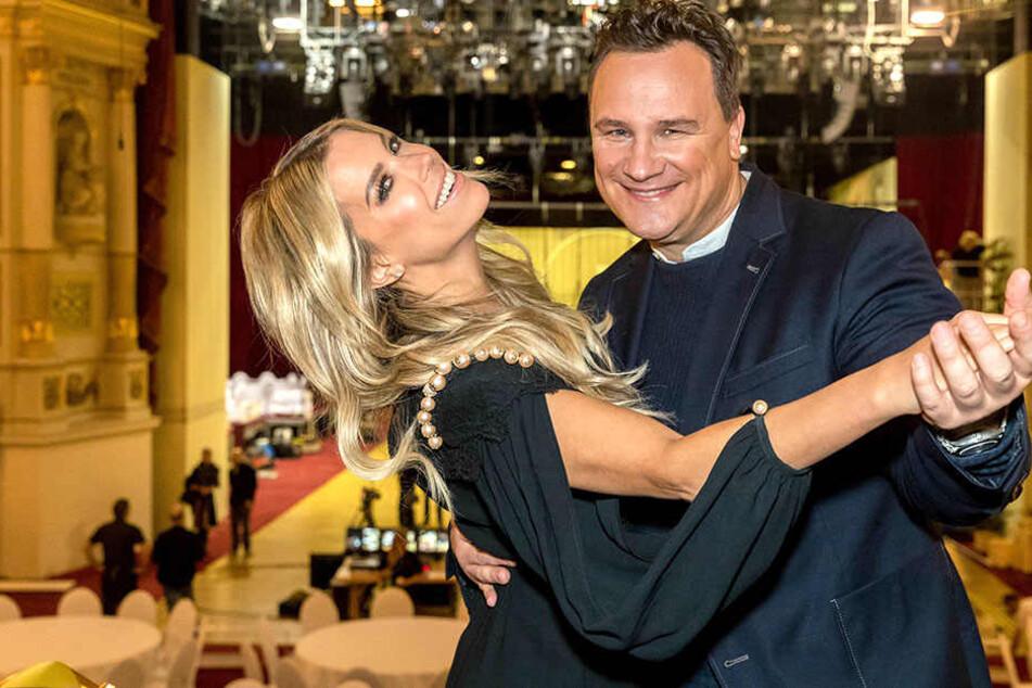 Den diesjährigen, 13. Semperopernball am 28. Januar moderierte Sylvie Meis (40) mit Guido Maria Kretschmer (53).