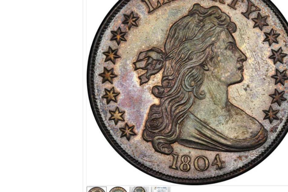 Der Silberdollar kursiert nur noch achtmal auf der Welt.