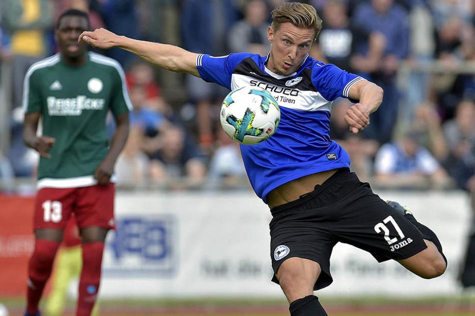 Konstantin Kerschbaumer könnte schnell zu seinem Pflichtspiel-Debüt für den DSC kommen.