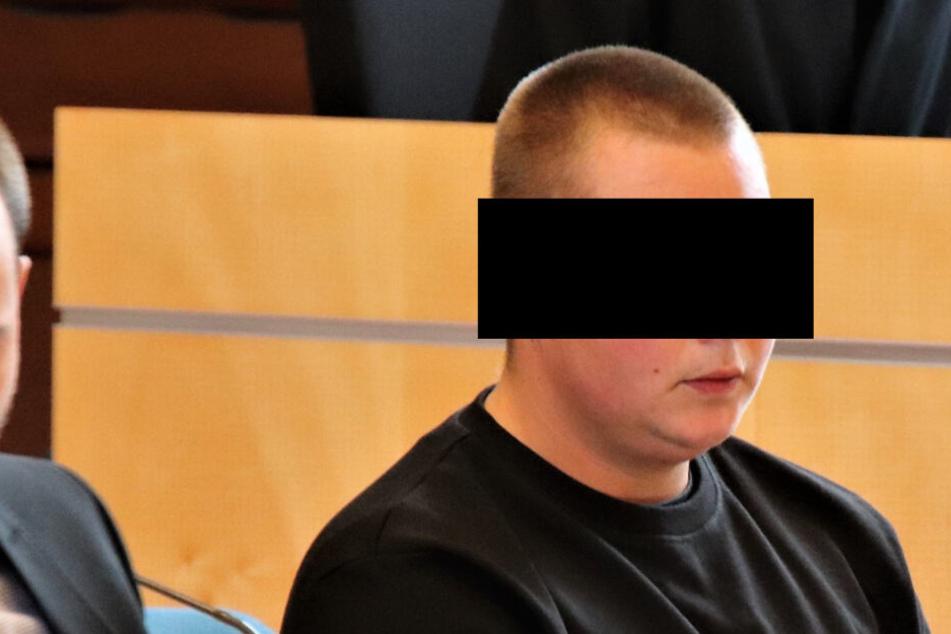Der Angeklagte am Donnerstag im Gericht.