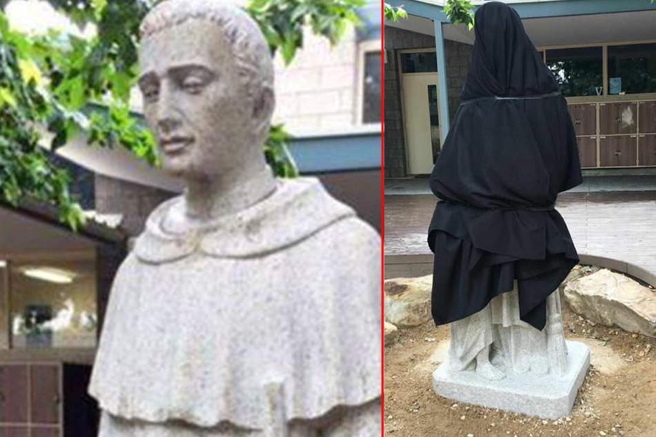 Katholische Schule muss neue Statue verhüllen: Das ist der Grund