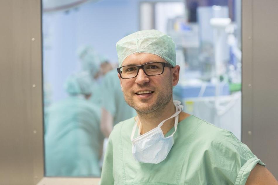 Prof. Martin Lacher vom Universitätsklinikum Leipzig mahnt Rennradfahrer zu mehr Rücksicht.