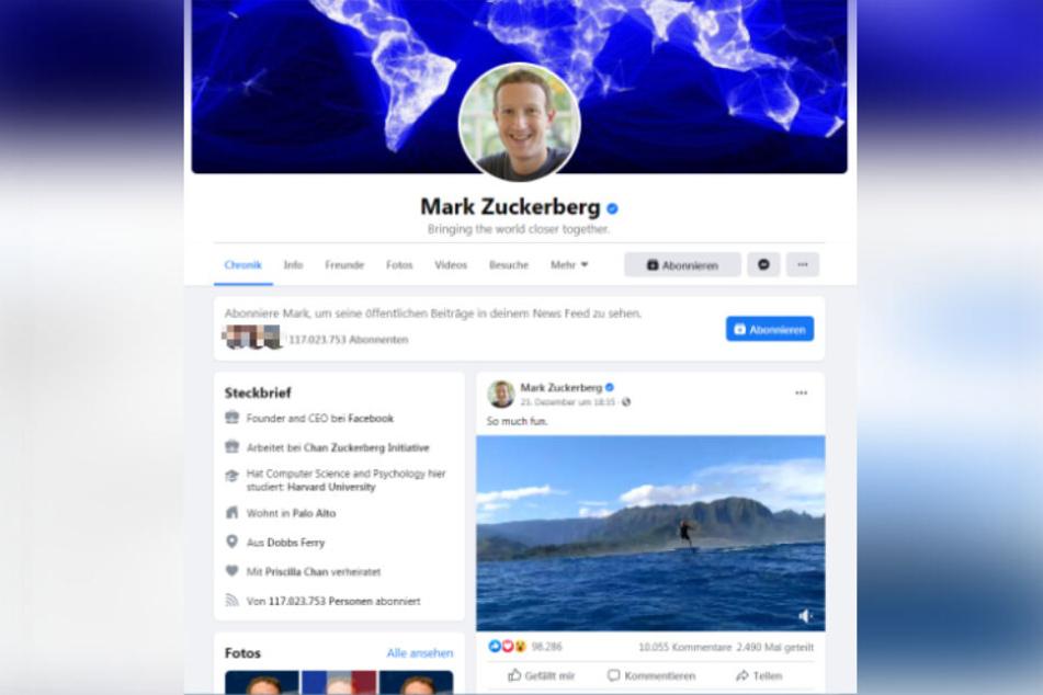 Die neue Chronik setzt Euer rundes Profilbild in die Mitte und rückt den Steckbrief näher an die Beiträge und Fotos heran.