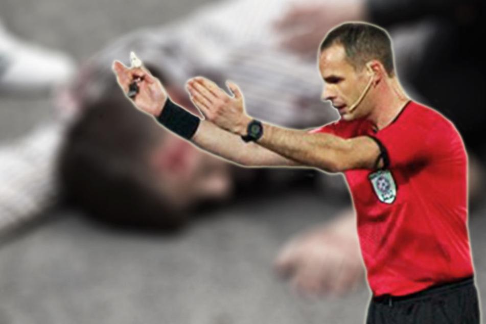 Schiedsrichter streiken nach brutaler Attacke auf Kollegen!