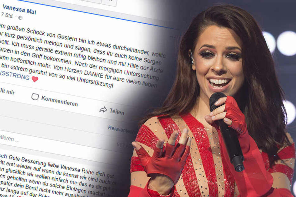 Nach Horror-Sturz: Vanessa Mai meldet sich bei ihren Fans