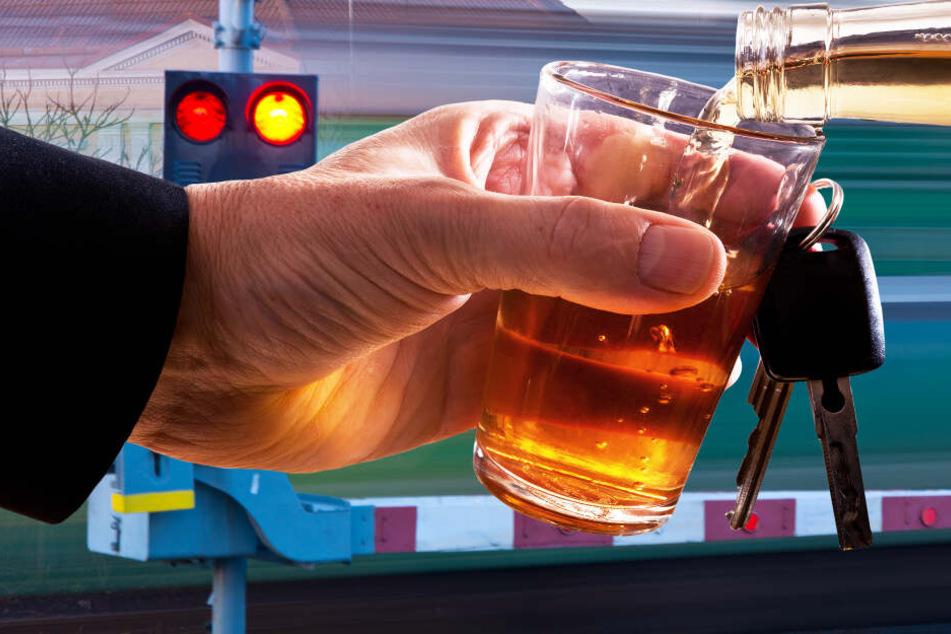 Alkohol und Autofahren sind nie eine gute Kombination. (Symbolbild)
