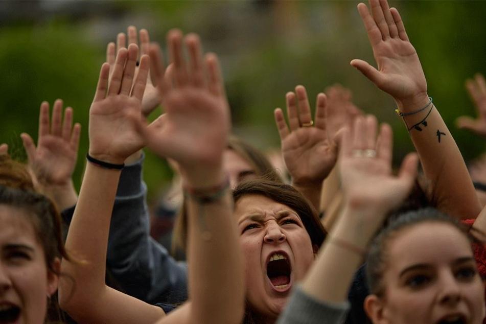 An diesem Wochenende wird es erneut zu zahlreichen Protesten kommen (Archivbild).