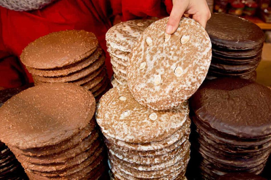 In mehreren Lebkuchen-Probe wurde ein zu hoher Wert des krebserregenden Stoffs Acrylamid entdeckt. (Symbolbild)