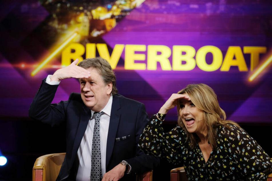"""""""Riverboat""""-Moderatorin Kim Fisher sprach die Sängerin immer wieder als """"Julia"""" an."""