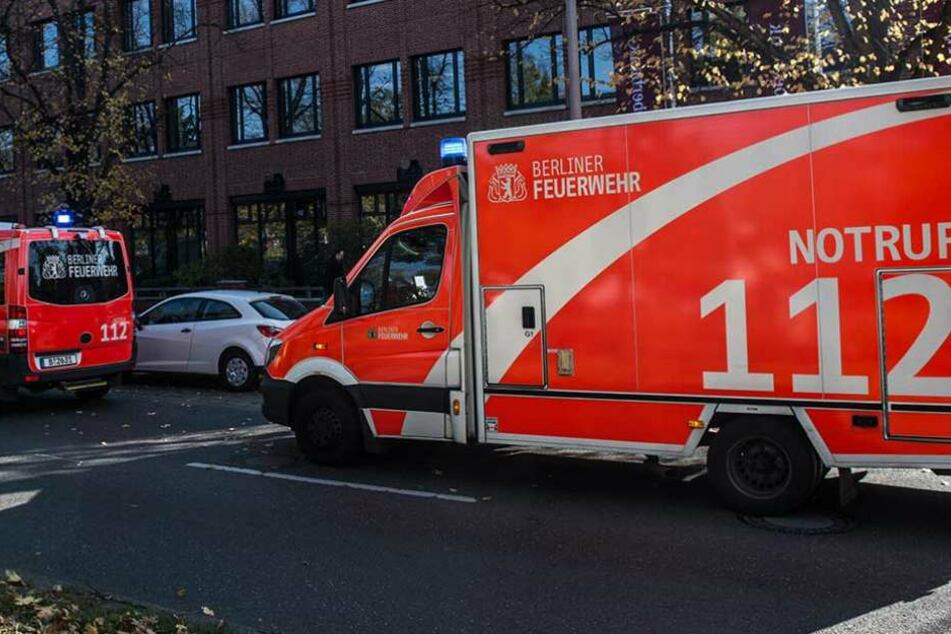Die Feuerwehr rückte an, um die Verletzten zu versorgen (Symbolbild).