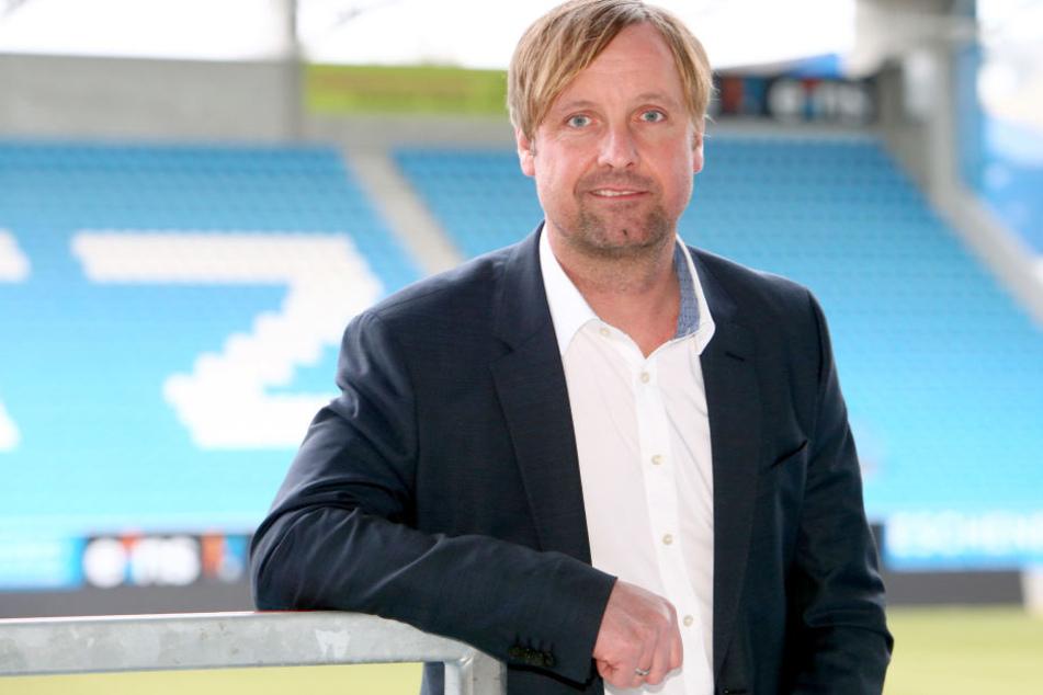 Vorstandsmitglied Stefan Bohne arbeit an der Entschuldung des Chemnitzer FC.