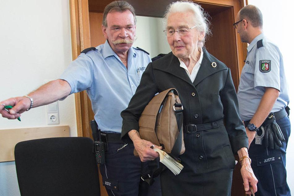 Schon mehrfach stand Ursula Haverbeck (88.) vor Gericht.