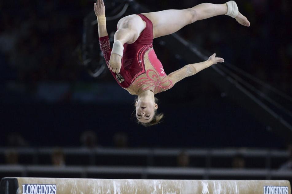Das wird Pauline Schäfer erst verdauen müssen. Bei den Titelkämpfen in Stuttgart ist die Weltmeisterin nur Ersatzfrau.