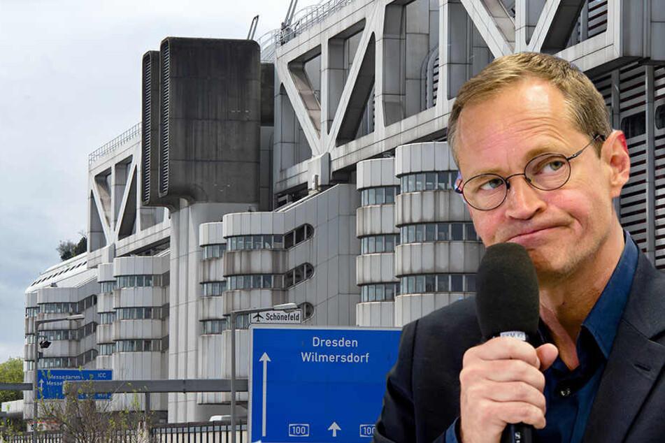 Der Berliner Senat will die Sanierung des maroden ICC angehen.