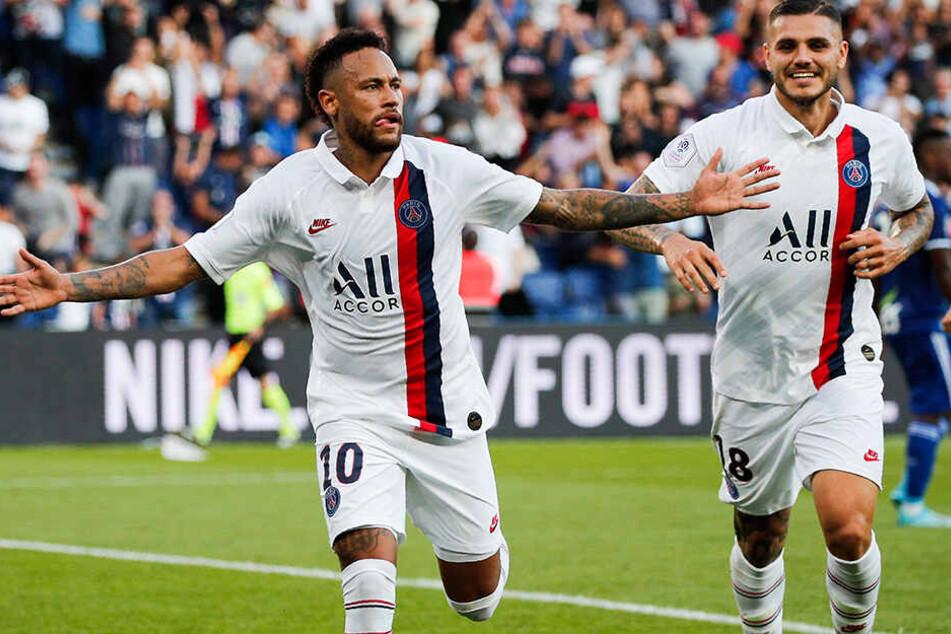 Nach monatelangen Schlagzeilen neben dem Platz, hat sich Neymar eindrucksvoll auf dem Feld zurückgemeldet.