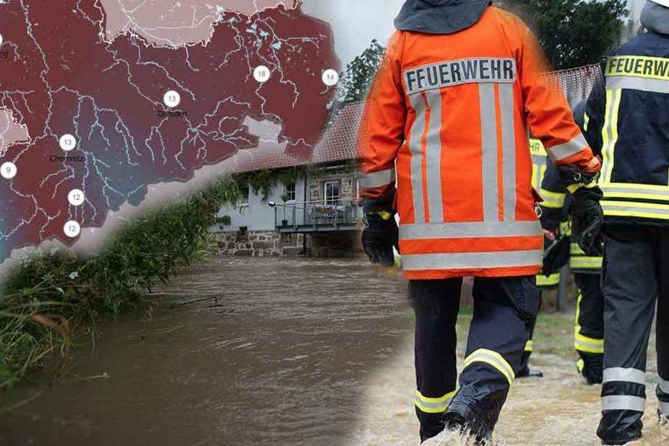 Dauerregen! Muss auch Sachsen mit Katastrophen-Alarm rechnen?