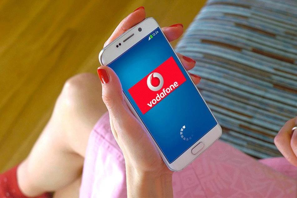 Silvester erwartet Vodafone einen Datenrekord durch verschickte Neujahrsgrüße in Dresden.