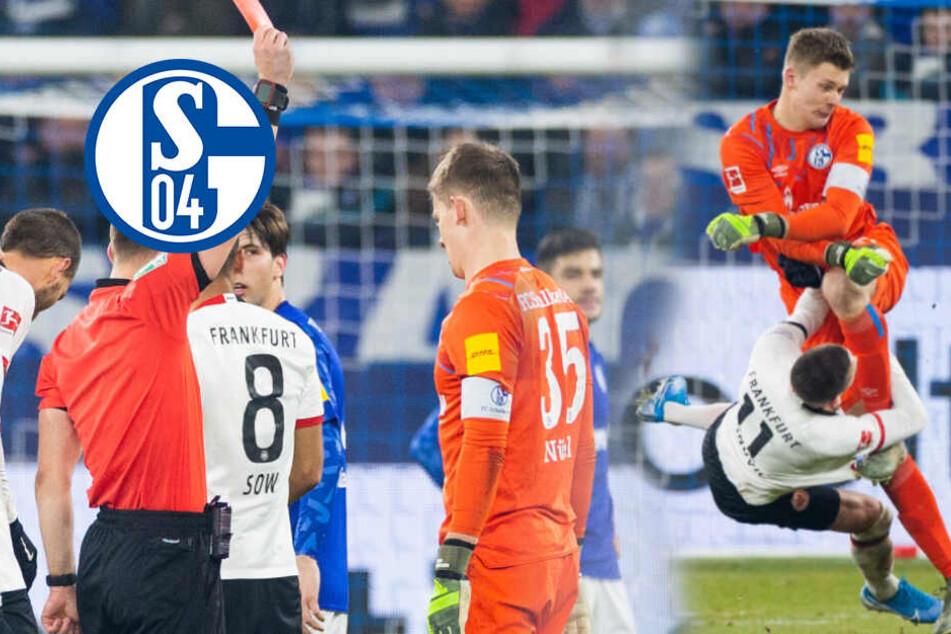 Kung-Fu-Tritt von Nübel: So lange sperrt das DFB-Sportgericht den Schalke-Torwart