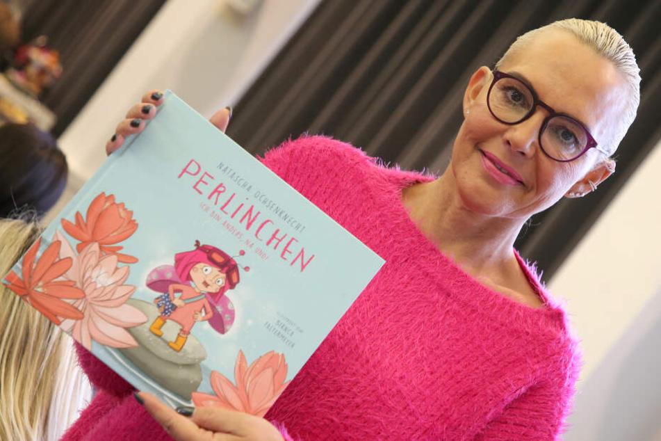 Natascha Ochsenknecht (54) stellt ihr zweites Kinderbuch vor.