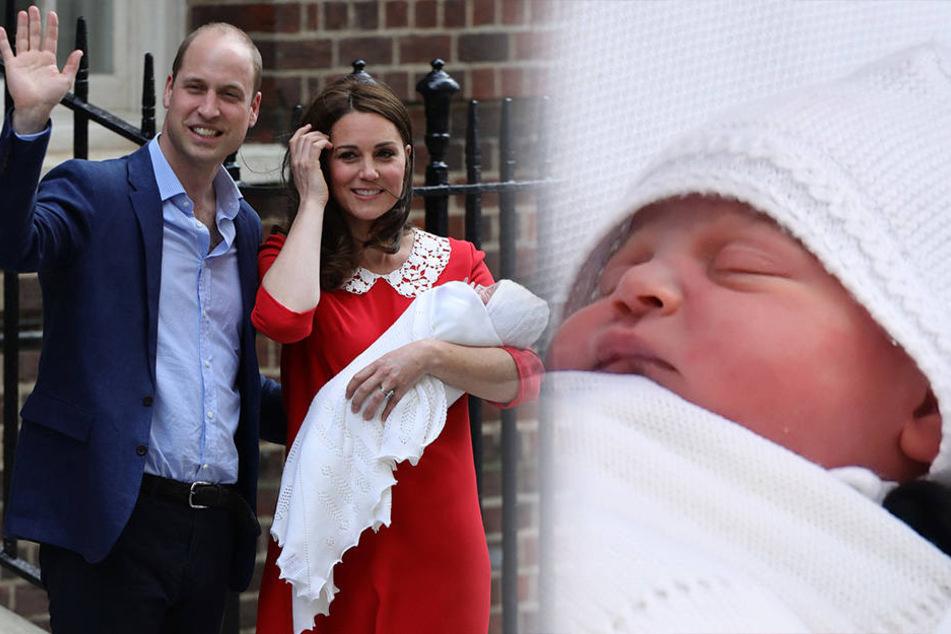 Name verkündet: So heißt das Royal-Baby von Kate und William