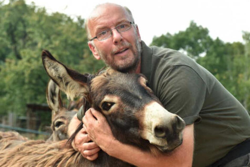 Heiko Dreschsler hängt an jedem einzelnen seiner Tiere.