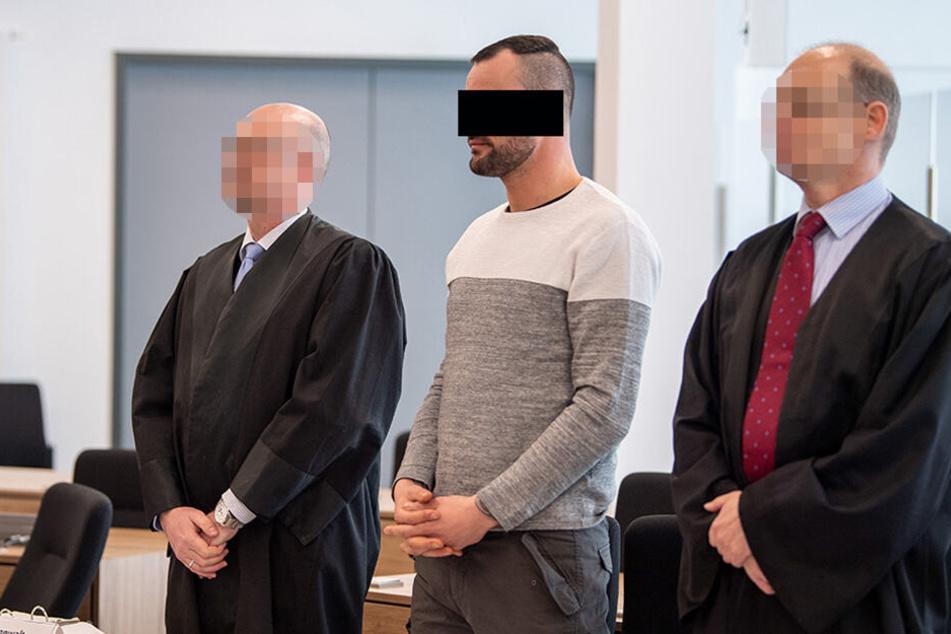 Marcel L. (30) erklärte sich gestern im Oberlandesgericht. Ob die Richter ihm seine Aussagen glauben, wird sich zeigen.