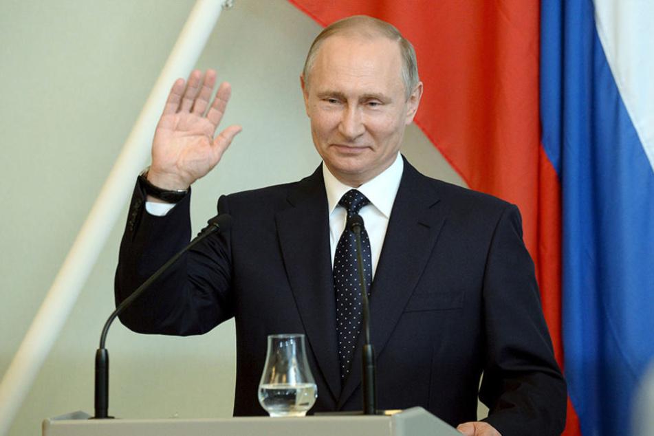 Russlands Präsident Wladimir Putin wird alles andere als begeistert über die Entwicklung sein.