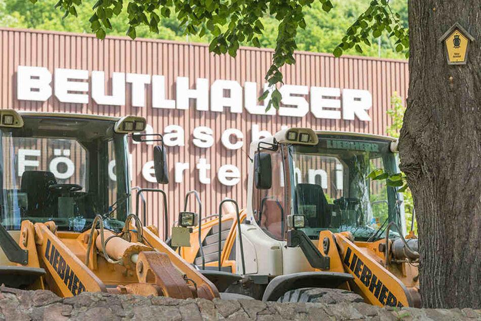 Beutlhauser verdient sein Geld mit Verkauf und Vermietung von Baumaschinen.