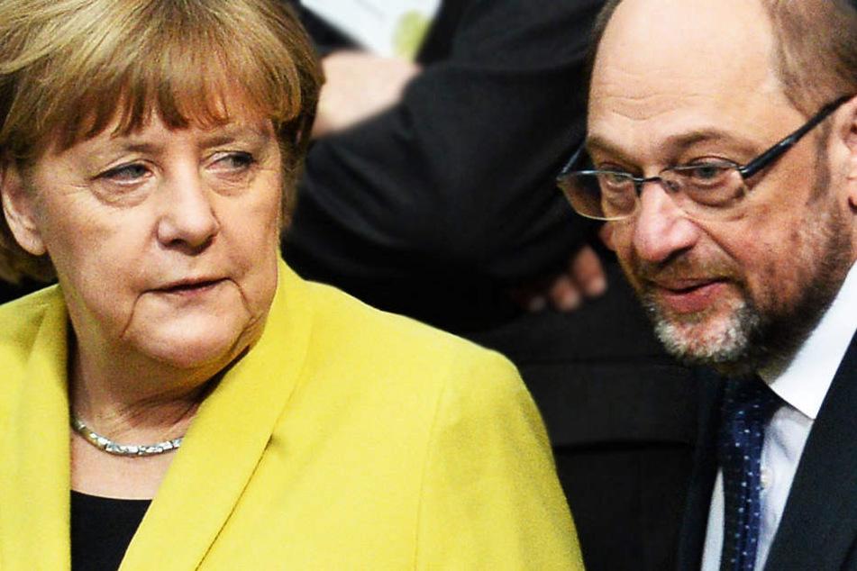 Tag der Entscheidung für Merkel, Schulz und ganz Deutschland.