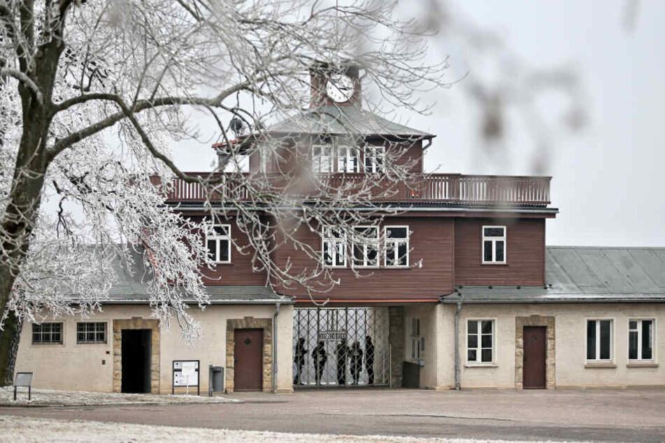 9000 Wachmänner und Aufseher waren in Buchenwald tätig.