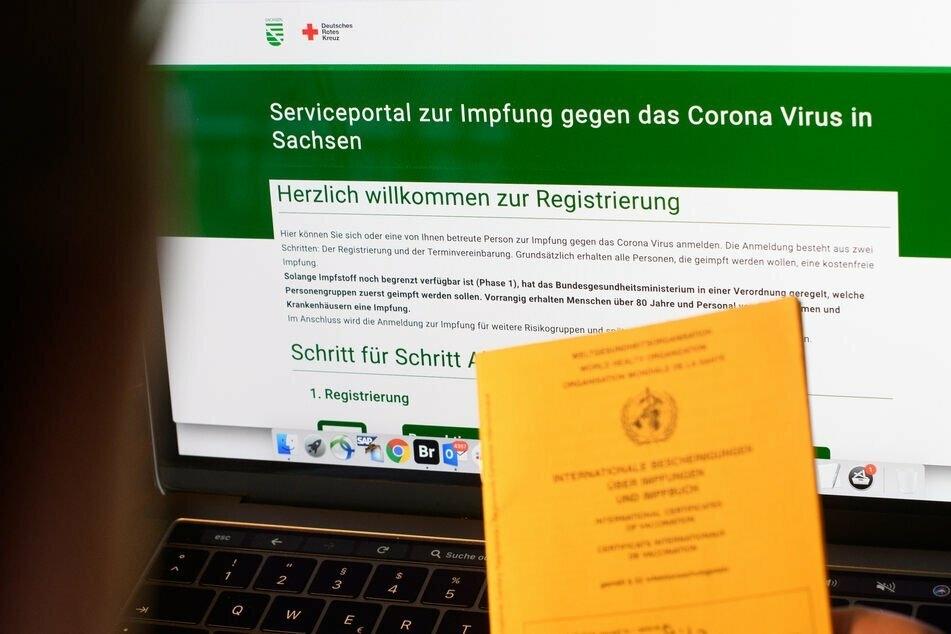 Ab sofort können sich in Sachsen alle Menschen ab 14 Jahren für die Impfung registrieren.