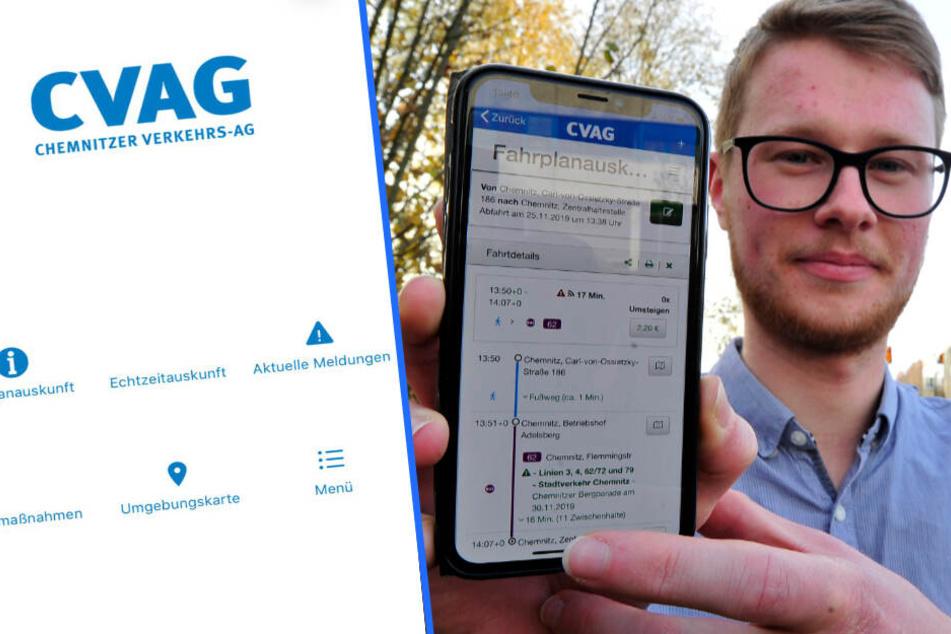 Mit Verkehrsinfos und Echtzeitauskunft: CVAG hat jetzt eine eigene App