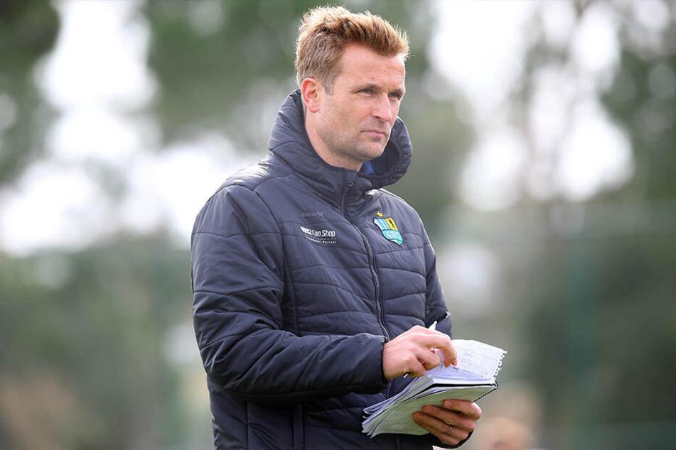 CFC-Coach David Bergner (45)