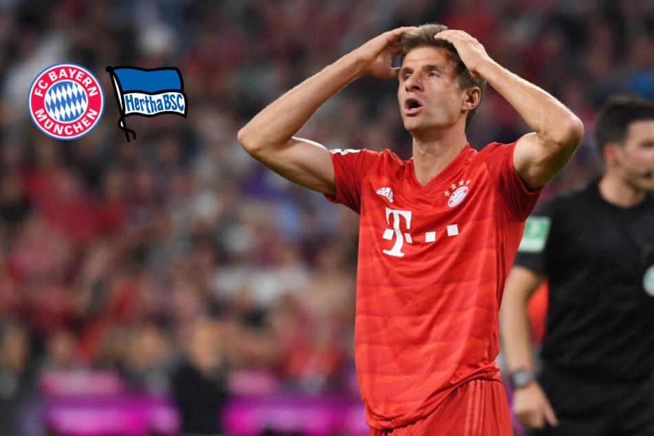 Überraschung zum Bundesliga-Start! Hertha erkämpft Remis beim FC Bayern