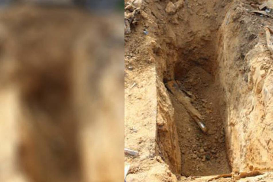 Ein 62-jähriger Bauarbeiter ist am Dienstagmorgen in Leipzig-Leutzsch von Holzträgern in einer Baugrube verschüttet worden. (Symbolbild)