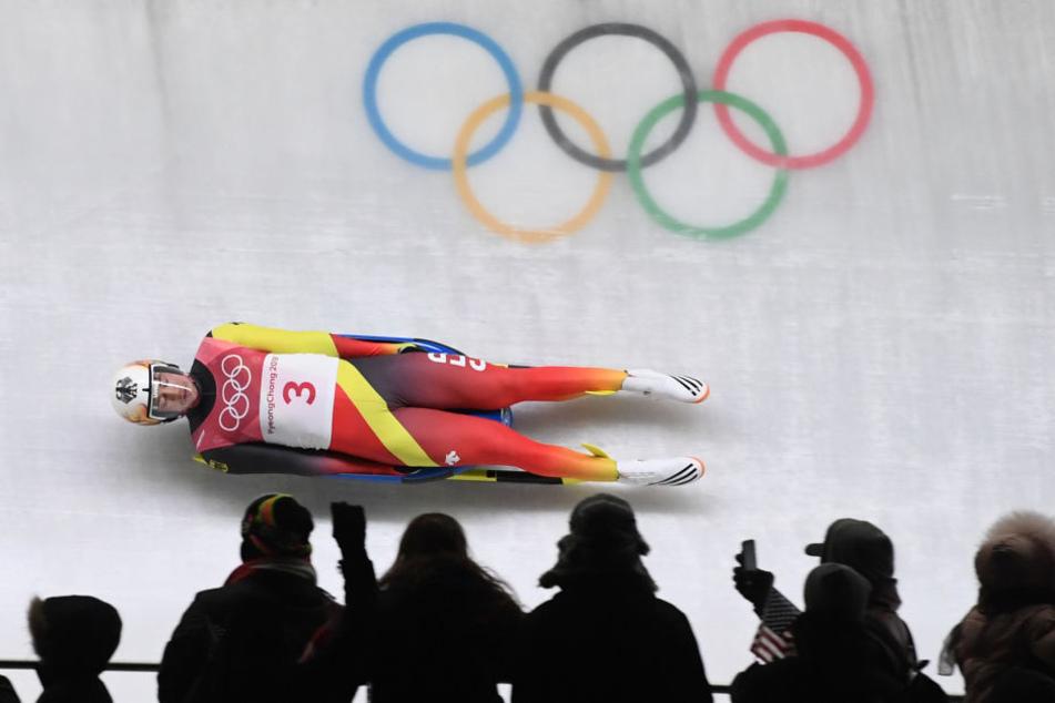 Johannes Ludwig sicherte sich bei Olympia Bronze.