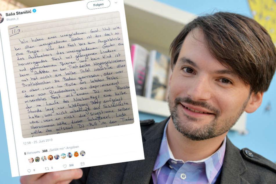 Bestseller-Autor schmuggelt sich in Abi-Prüfung, die über sein eigenes Buch geht