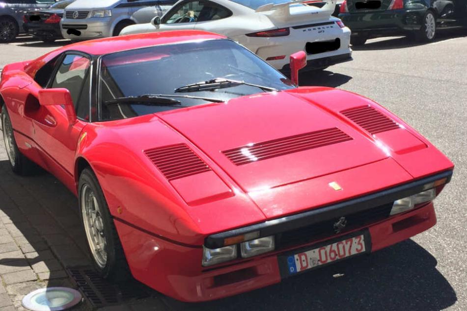 Ex-Formel-1-Pilot Eddie Irvine war Vorbesitzer des 400-PS-Gefährts.