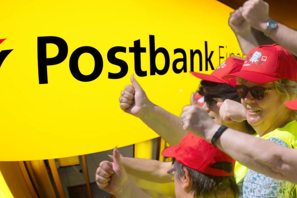 Heute streiken Postbank-Mitarbeiter in Sachsen und Sachsen-Anhalt