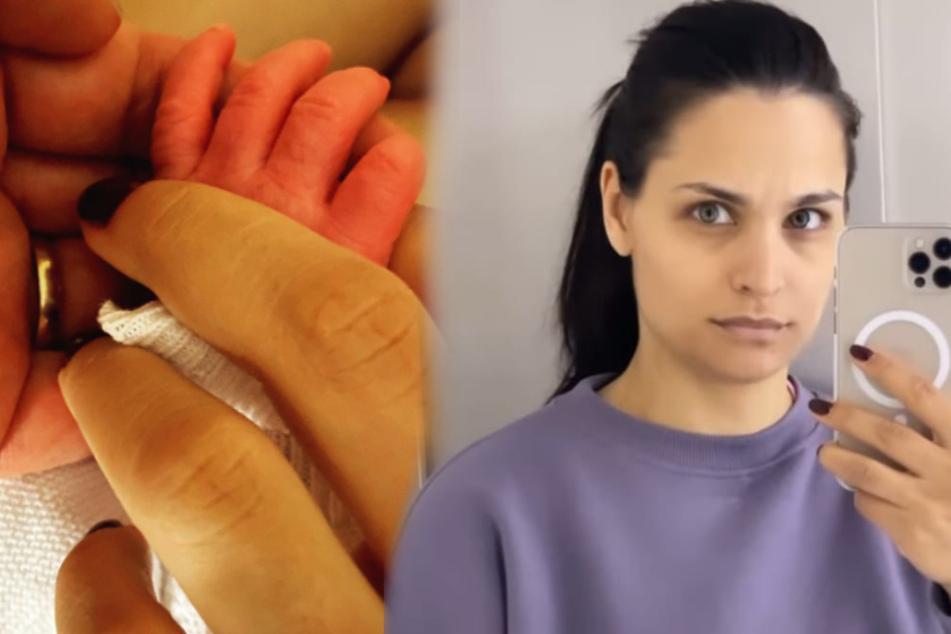 """""""Hatte solche Schmerzen"""": Amira Pocher spricht erstmals über Geburt"""