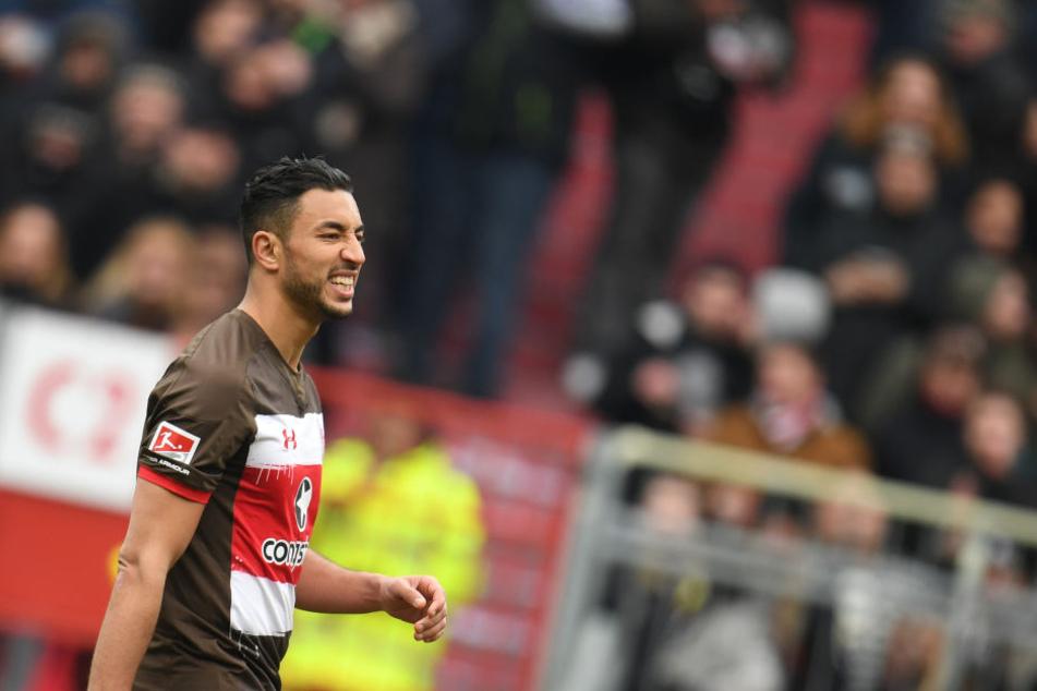 Mit dem Toreschießen wollte es bei Aziz Bouhaddouz in dieser Saison nicht so wirklich klappen.