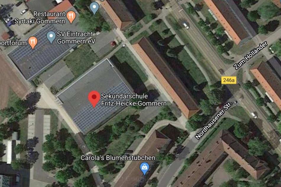 """Der Vorfall ereignete sich an der """"Fritz Heicke""""-Sekundarschule in Gommern bei Magdeburg."""