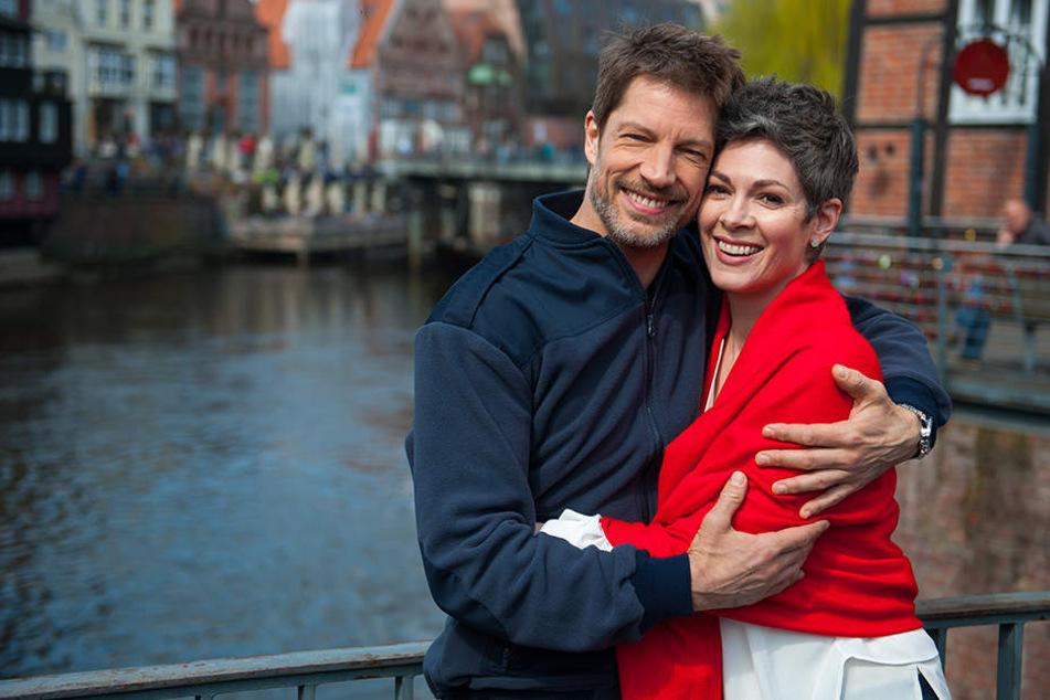Mit ihrem Serienpartner Mathis (Micky Hardt) wanderte Sydney nach Portugal aus.