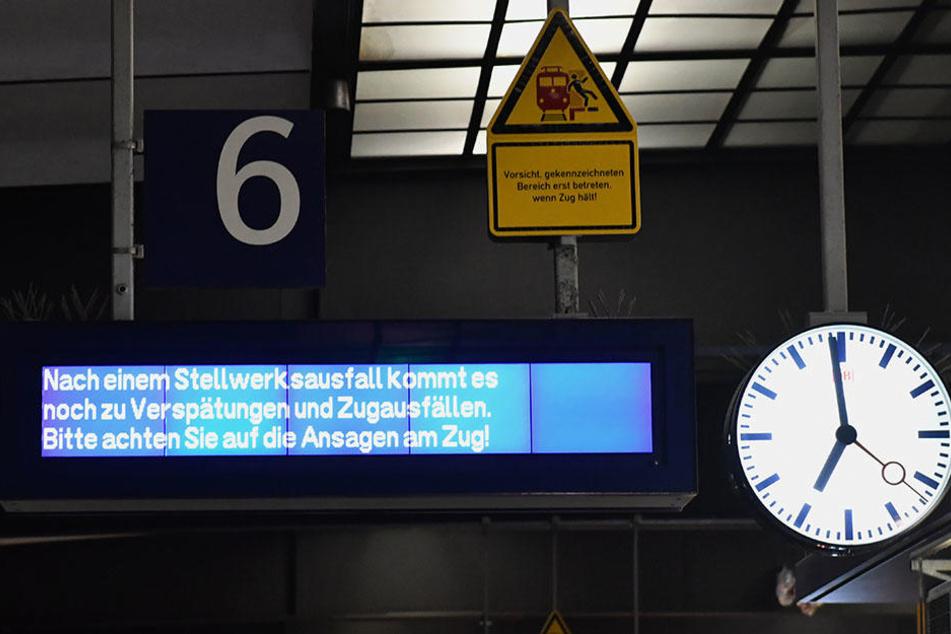 Bei der S-Bahn kommt es noch immer zu Verspätungen.