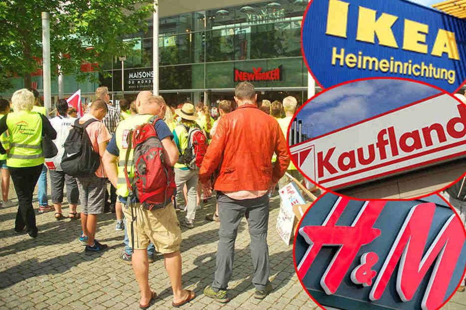 Neue Runde! Wieder Streik bei IKEA, H&M, Kaufland und Co.