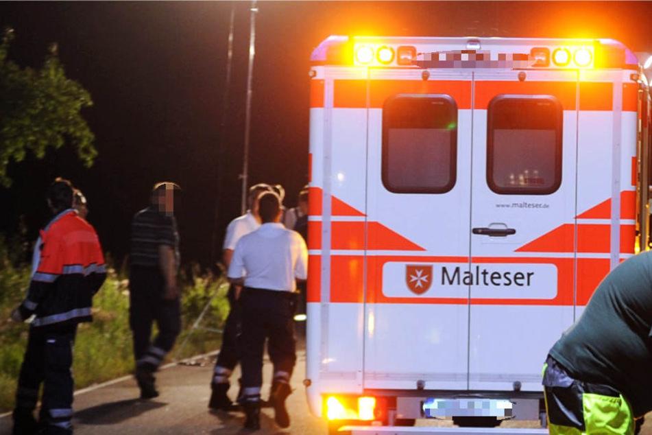 Unter den Verletzten ist laut Polizei auch ein Kleinkind (Symbolbild).