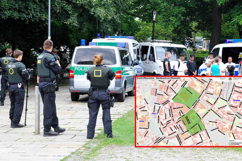 Ab sofort! Dauer-Kontrollen in der Chemnitzer Innenstadt