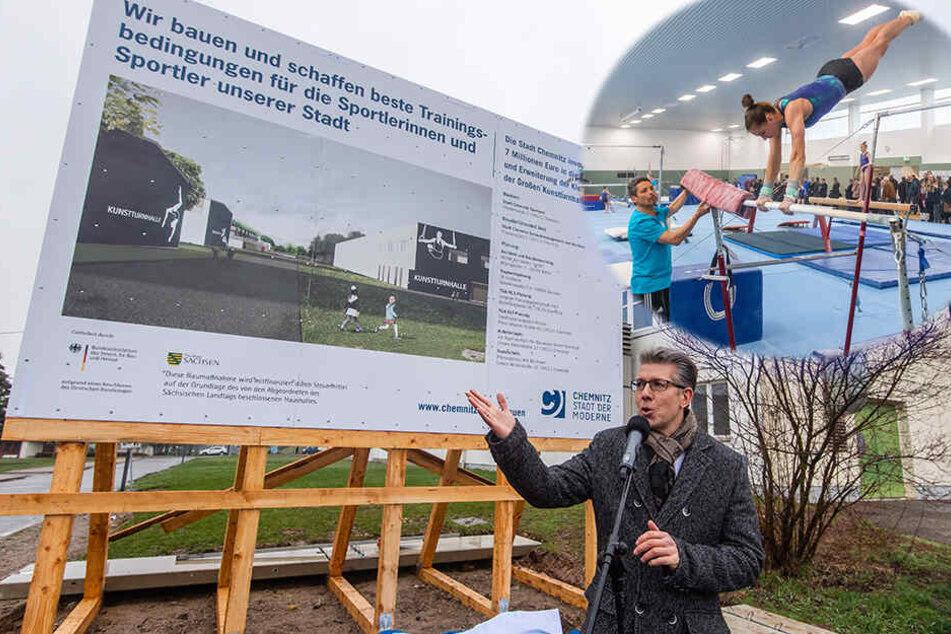 Bauarbeiten im Sportforum: Millionen für den Spitzensport