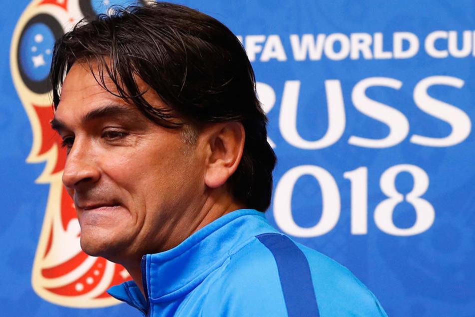 Nationaltrainer Zlatko Dalic (51) traf die Rausschmiss-Entscheidung